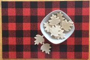 Lumberjack Placemats - Paper Place Mats in Rustic Red Buffalo Plaid, 25 per pad | Lumberjack Party Supplies