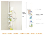 ALLZONE Room Divider Tension Curtain Rod,210cm - 300cm , No Drilling, Never Collapse, Very Secure, Brushed Stainless Steel
