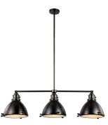 Trans Globe Lighting PND-1007 WB Indoor Performance 33cm Island Pendant, Weathered Bronze