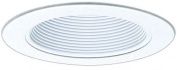 "Elco Lighting EL993MW 4"" Metal Baffle with Metal Ring - EL993M"