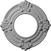 Ekena Millwork CM09BN 23cm OD x 10cm ID x 1.6cm Benson Ceiling Medallion
