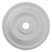 Ekena Millwork CM26JE 70cm OD x 9.2cm ID x 3.8cm P Jefferson Ceiling Medallion