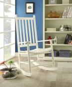 1PerfectChoice Laik White Rocking Chair
