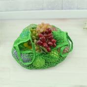 Family Shopping Furit Bag Storage Handbag Woopower Fashion Reusable Cotton Mesh Beach Shoulder Bag Kids Toys Grocery Bag