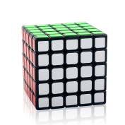 Rubik Cube 5x5 Speed Cube 5x5x5 Puzzle Cube IQ Games Puzzles for Kids by Magic Cube Black