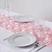 Efavormart Wonderland Rosette Table Runners - Blush