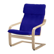 The Cotton Poang Chair Cover Replacement is Custom Made for Ikea Poang Armchair Slipcover Only.
