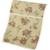 Tropicana Decorative Non-Slip Sofa Tidy Floral Design Antimacassar Furniture Cover with Lace Trim