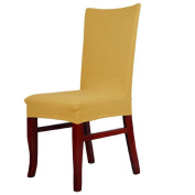 Kingfansion Dining Chair Covers Spandex Strech Dining Room Chair Protector Slipcover Decor