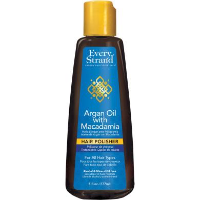 Every Strand Argan Oil with Macadamia Hair Polisher, 180ml