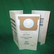 Shop Vac Type E, 5, 6, 30.3l Dry Vacuum Pick Up Bags GK-71205, 9066100, 712SW [6 Bags]