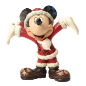 Disney Traditions Holiday Gift Mickey Mouse Figurine