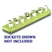 3/8 in. Drive Magnetic Yellow Socket Holder 5.5-22mm