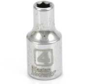 APEX TOOL GROUP-ASIA 1/4-Inch Drive 4MM 6-Point Socket