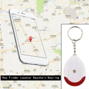 LED Light Torch Remote Sound Control Lost Key Finder Locator Keychain Keyring