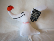 """THE NIGHTMARE BEFORE CHRISTMAS """" ZERO """" BACKPACK CLIP KEY CHAIN PLUSH TOY"""