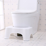 ThinkMax Potty Help Prevent Constipation Bathroom Toilet Aid Squatty Step Foot Stool for Elderly Children Pregnant Women