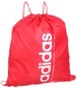 Adidas Gym Bag Linear Essential School Bag Sports Bag Shoe Bag Drawstring Bag Red/White Z26361 New