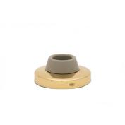 Schlage 4071/2B3 Door Stop, 5.1cm - 1.1cm Dia, Brass
