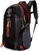 Aidonger Unisex Vintage 40L Hiking Backpack Travel Daypack