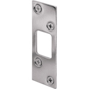Prime-Line High Security Deadbolt Strike 7.6cm 7.6cm - 1.6cm H X 2.5cm - 0.6cm W Nickle Plated Steel