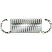 Prime-Line Extension Spring 0.3cm X 1.9cm X 5.1cm - 1.6cm Steel Polybag Of 2