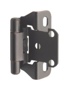 Amerock Hinge 0.6cm Partial Wrap Self-Closing Oil Rubbed Bronze Card 2