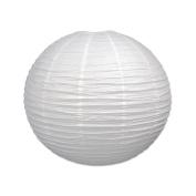 Beistle Jumbo Paper Lantern, 80cm , White, White