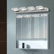 Lightess Vanity Lights Bathroom Lighting Fixtures Crystal Led Bath Wall Sconces Light Modern Mirror Front Lamp, 12W