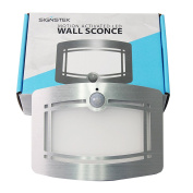 Signstek 10 LED Wireless Light-operated Motion Sensor Activated Battery Operated Sconce Wall Light