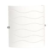 Linea di Liara Avellina One-Light Wall Lamp, Carved Opal Glass LL-WL828