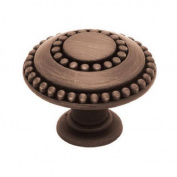 BRAINERD MFG CO/LIBERTY HDW 3.8cm . Bronze Double Bead Cabinet Knob