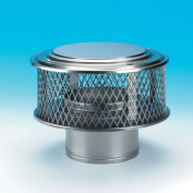 Chimney 13880 15cm HomeSaver Guardian Cap 304-alloy 1.6cm Mesh by Copperfield Chimney Supply