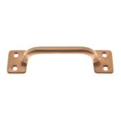 Idh by St. Simons 25042-008 Solid Brass 3. 13cm CC Sash Lift Door Pull, Bright Copper