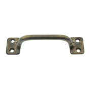 Idh by St. Simons 25042-005 Solid Brass 3. 13cm CC Sash Lift Door Pull, Antique Brass
