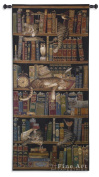 """Fine Art Tapestries """"Classic Tails"""" Wall Tapestry, Large"""