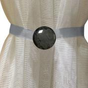 EleCharm Simple Marbling Magnetic Curtain Buckle Tieback Wrap Fastener Holdbacks Drapery