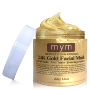 MyM 24k Luxurious Gold Facial Mask--- Lift and Firm To Re-Energised The Looking Of Skin, Revitalises, Lifts, Firms, Brightens, Hydration, Smoothes and Refreshes