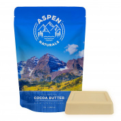 Cocoa Butter Pure Raw Unrefined - 0.5kg Highest Quality Bar-Premium Cacao Fragrance-Moisturise Your Face, Body, and Hair-DIY lotion, cream, lip balm, oil, stick or body butter. Aspen Naturals Brand