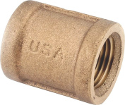 COUPLING BRASS 3/4FPT