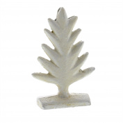 Rustic White Cast Iron Tree Place Card Holder Set 4 | Photo Party Stand