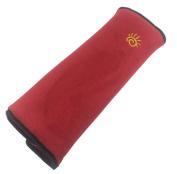Hillento Auto Seat Belt Pillow Car Safety Belt Protect, Shoulder Pad, Headrest Neck Support, Adjust Vehicle Seat Belt Cushion for Kids, Children, Adult, Red
