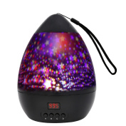Night Light Star Moon Projection Lamp,Star Light Projector 360 Degree Rotating with Timer Auto Shut-Off For Kids Bedroom,4 Led Bulbs With Multiple Colours