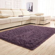 YJ.GWL Soft Shaggy Area Rugs for Bedroom Kids Room Children Playroom Non-slip Living Room Carpets Nursery Mat Home Décor Rug 1.2m by 1.6m