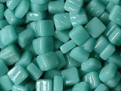 Ottoman Glass Micro Mosaic Tiles Pale Teal 100 pack