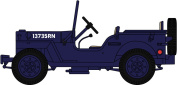 OXFORD DIECAST 76WMB001 Willys MB Royal Navy