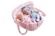 Arias 60136 Twins Sleeping Boy, Baby Girl
