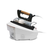 Singer SHG2026B Ultimate Finish Reservoir Tank 1750-watt Steam Iron with Brushed Stainless Steel Soleplate, Cork Handle and Auto-Off