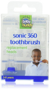 Baby Buddy Sonic 360 replacement heads 4ct Blue