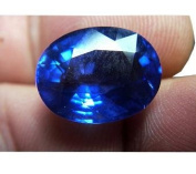 Getgemstones Certified Best Quality Blue Sapphire Stone Lab Created 5 Carat